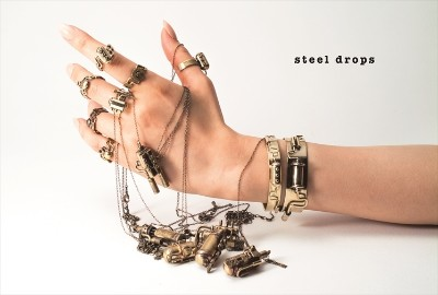 【steeldrops】極上な雰囲気漂う、スチームパンクアクセサリー