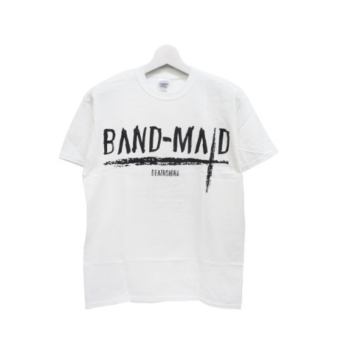 BAND-MAID deathsight Tシャツ 白 L