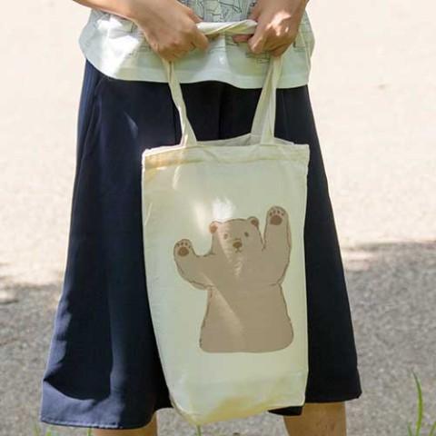 【warabimochi】森のくまさんトートバッグ