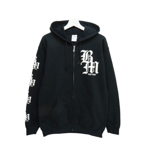 BAND-MAID×deathsight ZIP UP HOODIE XL