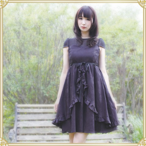 【Lumiebre】plume-rose(black)