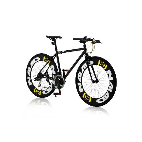 【クロスバイク】CAC-023 NAIAD【ブラック】