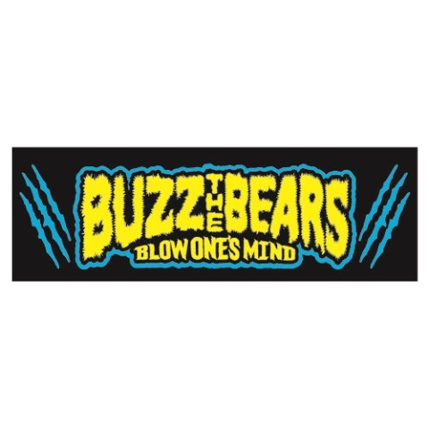 【 BUZZ THE BEARS】RUDIE'S × BUZZ THE BEARS TOWEL(ブラック)