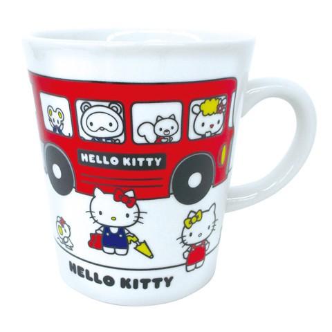 【ハローキティ・サンリオ】マグカップ スクールデイズ キティ スクールバス
