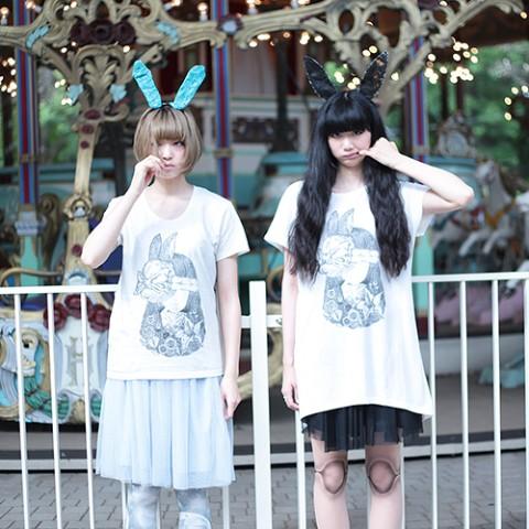 【アリスムカイデ×岸波(セプテンバーミー)】ウサギアンドワンダーガール(XLサイズ) / ヴィレ