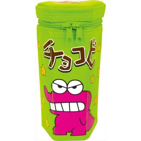 【クレヨンしんちゃん】チョコビペンポーチ(グリーン)