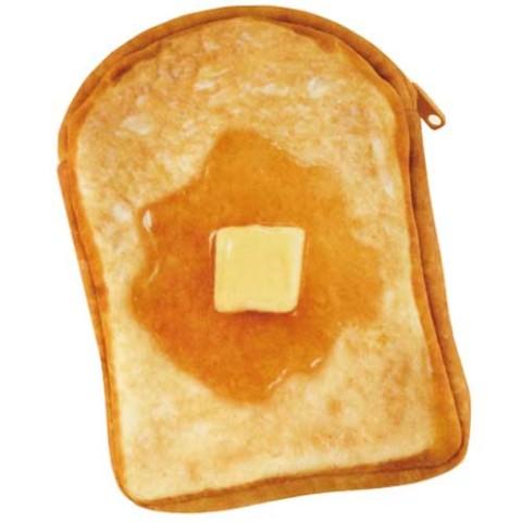 【まるでパンみたいな】ショルダーポーチ(ハニートースト )