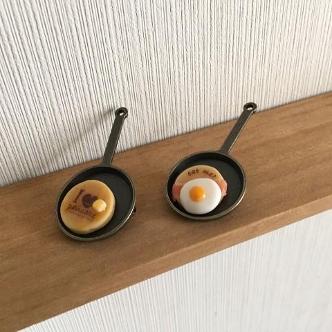 【yum911】フライパンパンケーキ(目玉焼き)