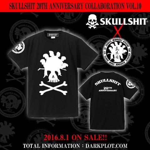 【SKULLSHIT】20周年コラボ企画グッズ!