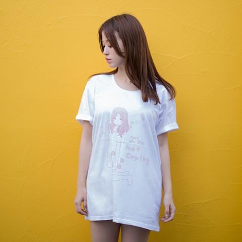 【泣きぼくろ女子】徳田有希×やのあんな Tシャツ (Mサイズ)