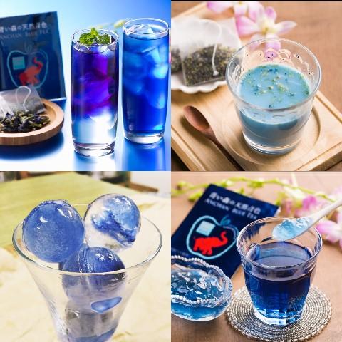 ◆神秘的なブルー◆青色りんごジャム&青色紅茶