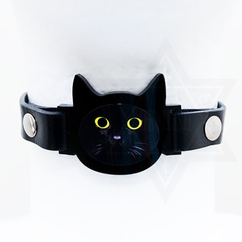 【Devilish】Black cat choker<クロネコ>
