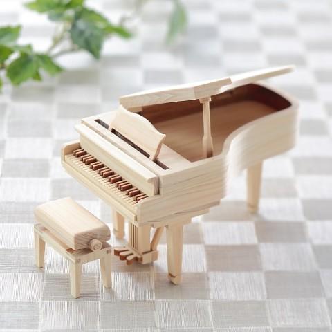 【木の雑貨 3×GOOD(スリーグッド)】ひのきのピアノ