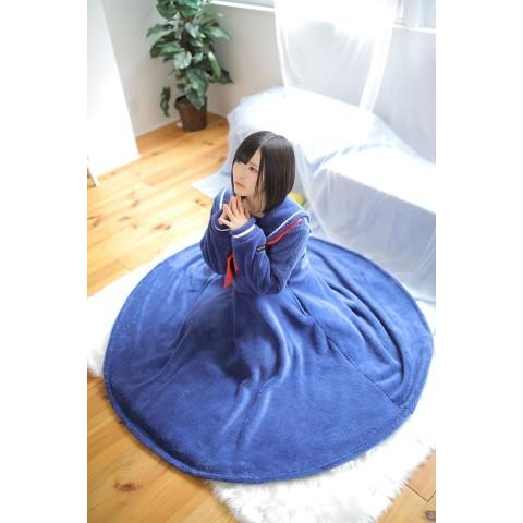 【セーラー服パジャマ】家着用セーラー服。※Lineニュースで話題のセーラー服着る毛布限定再販