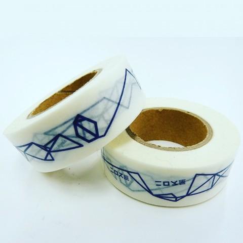 【ニロス屋】幾何学マスキングテープ