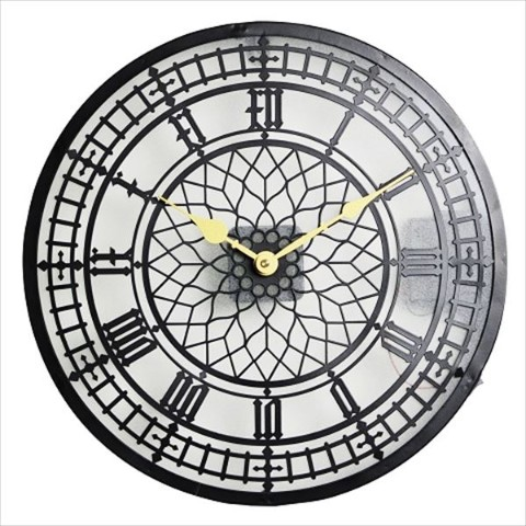 【壁掛け時計】LIGHTING WALL CLOCK (C)