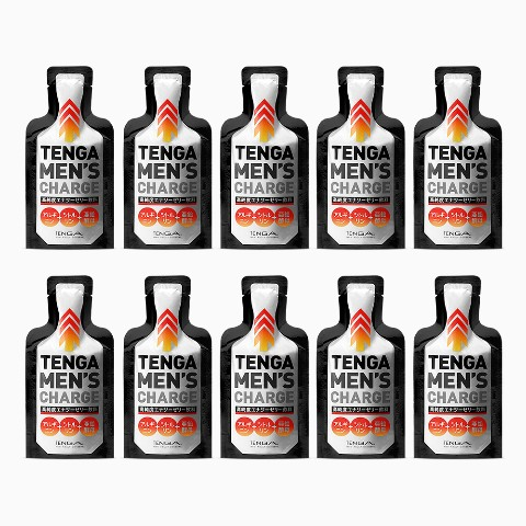 【TENGA】MEN'S CHARGE(テンガメンズチャージ)エナジーゼリー飲料【10個セット】