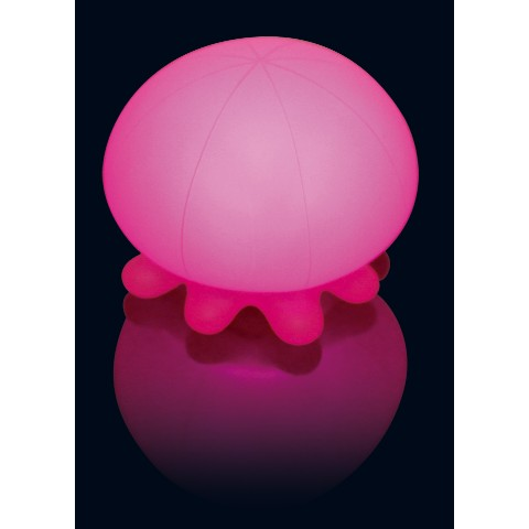 【くらげと一緒にぷっかぷか】Jelly Fish Gradation Bath Light 【Pink】