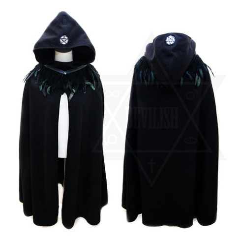 【Devilish】Lucifer cape <闇のマント型ケープ>