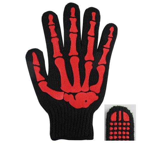 【骨の手袋】WORK GLOVE BONE RED/BLACK