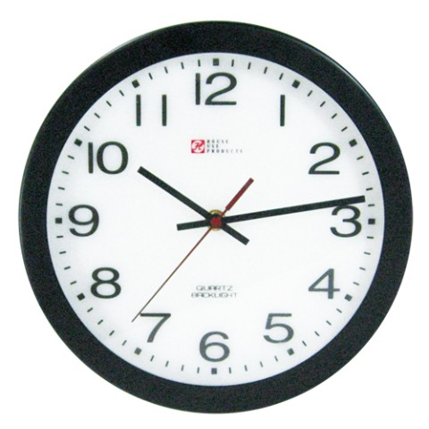【センサー時計】LIGHT UP WALL CLOCK apt(NUMBER)