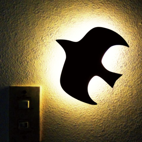 That's Light! WOODY WALL LIGHT・ことり