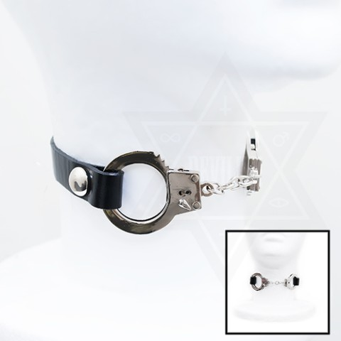【Devilish】Cuffed choker<手錠チョーカー>