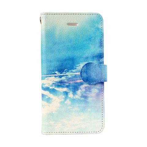 【comopure】【iPhone7】『Sea and sky』手帳型スマホケース