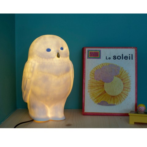 【Goodnight Light】 Owl with Color