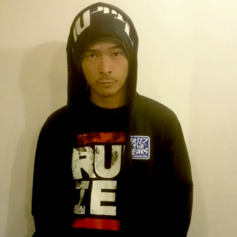 【BUZZ THE BEARS】RUDIE'S × BUZZ THE BEARS ZIP FOODパーカー(Lサイズ)