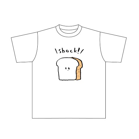 """【みぞぐちともや】""""食パンTシャツ""""VS""""ごはんTシャツ"""""""