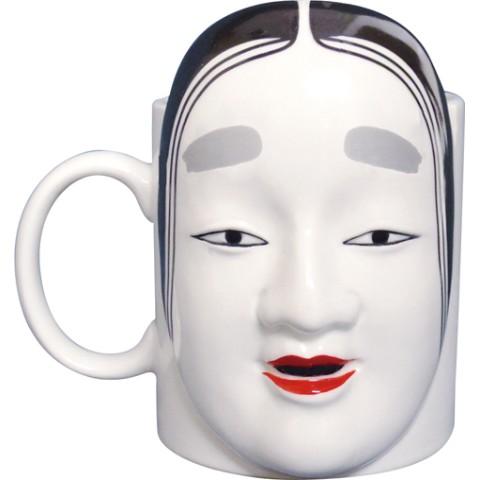 【【マグカップ】能面マグ製