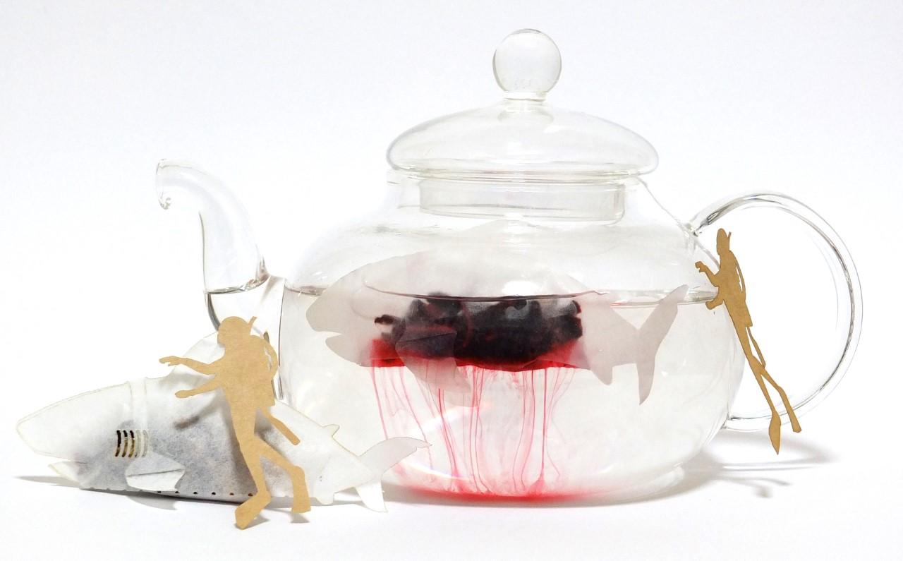 ocean-teabag】サメのティーバッ...